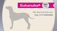 We use Eukanuba Dog Food